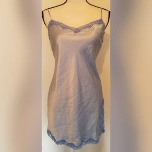 Victoria's Secret Powder Blue Slip Lace NEW NWT
